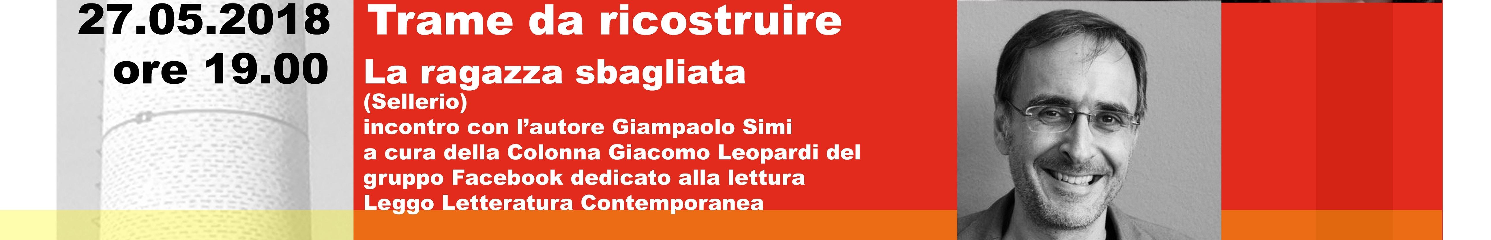 BrickBookFestival  incontra Giampaolo Simi