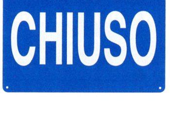 CHIUSURA STRAORDINARIA