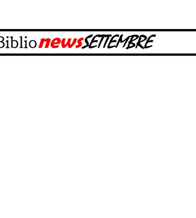 BIBLIOnewsSETTEMBRE